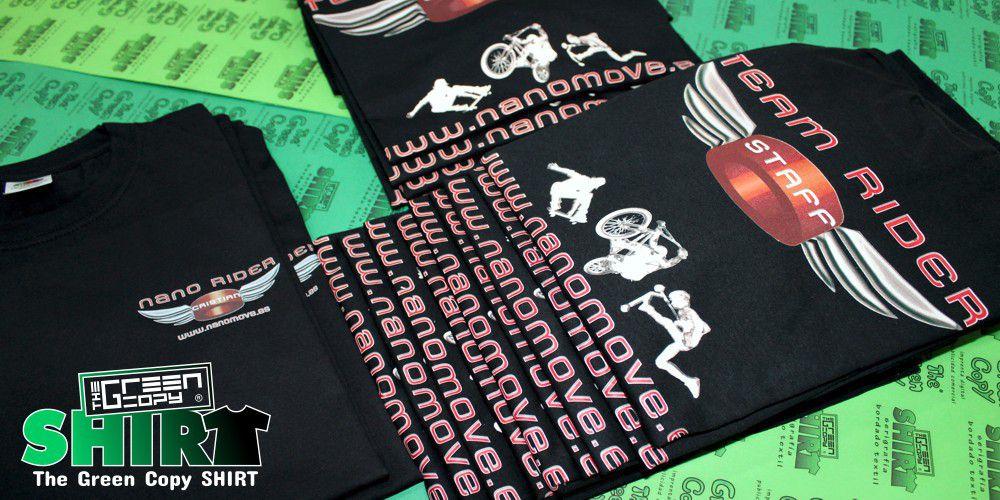 f2c2ba9230 Estampar Camisetas Baratas para Torneos de Movenano en Madrid - Tienda para  Imprimir Camisetas de Campeonatos