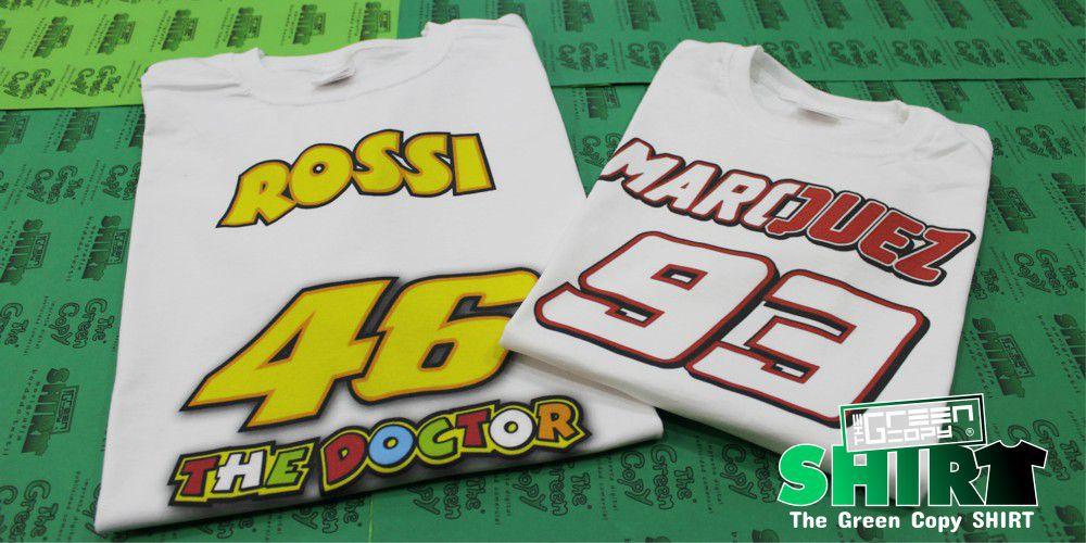b2dd5ef48 Estampar Camisetas Baratas para Torneos de Rossi Marquez en Madrid - Tienda  para Imprimir Camisetas de